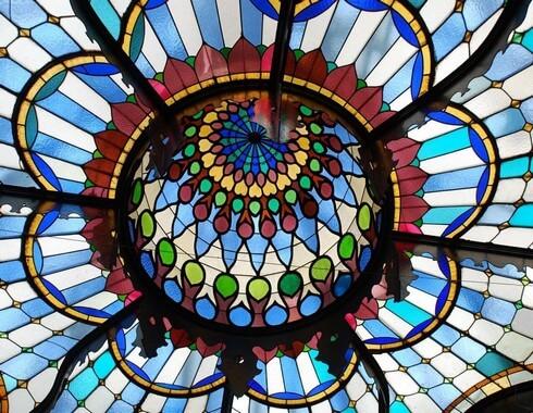 coupe Art Nouveau musée des arts décoratifs Budapest (1)