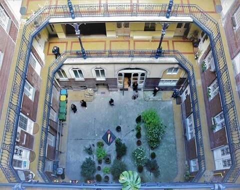cour intérieure Budapest