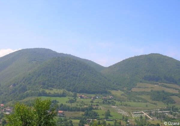 pyramides de Bosnie à Visoko