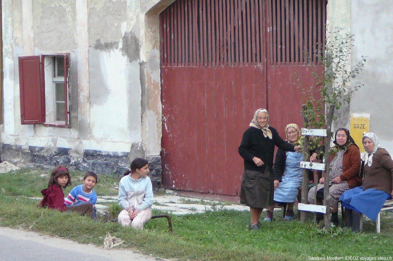 rencontre en roumanie dans un village saxon