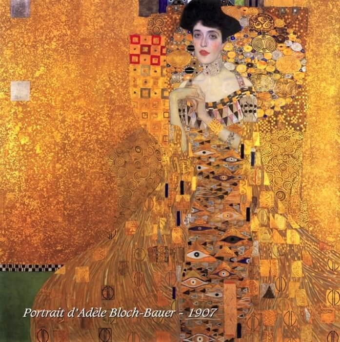 Portrait d'Adèle Bloch Bauer de Klimt
