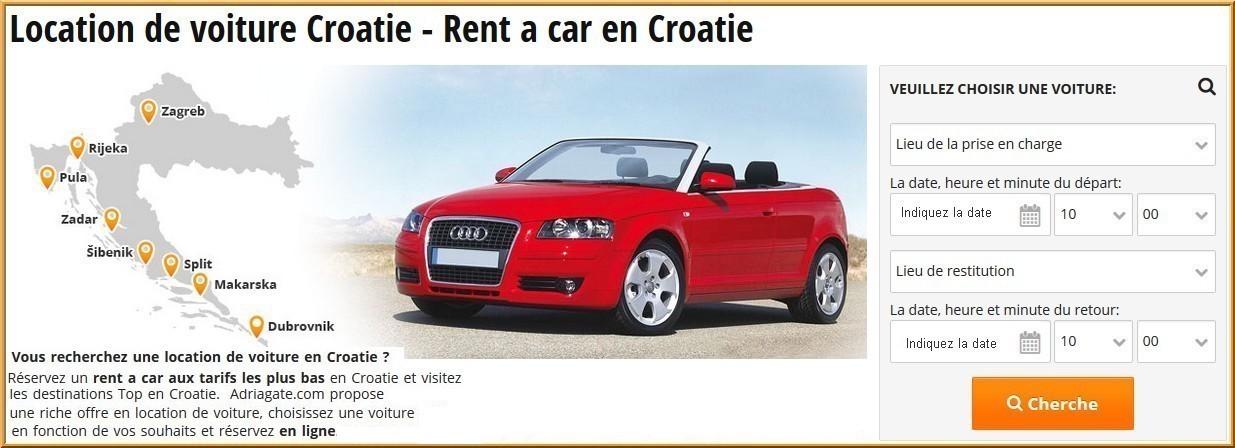 adriagate voiture