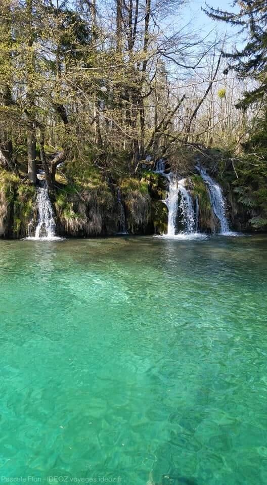 cascades à Plitvice
