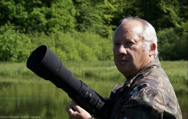 gerard saunier à la recherche des ours en serbie