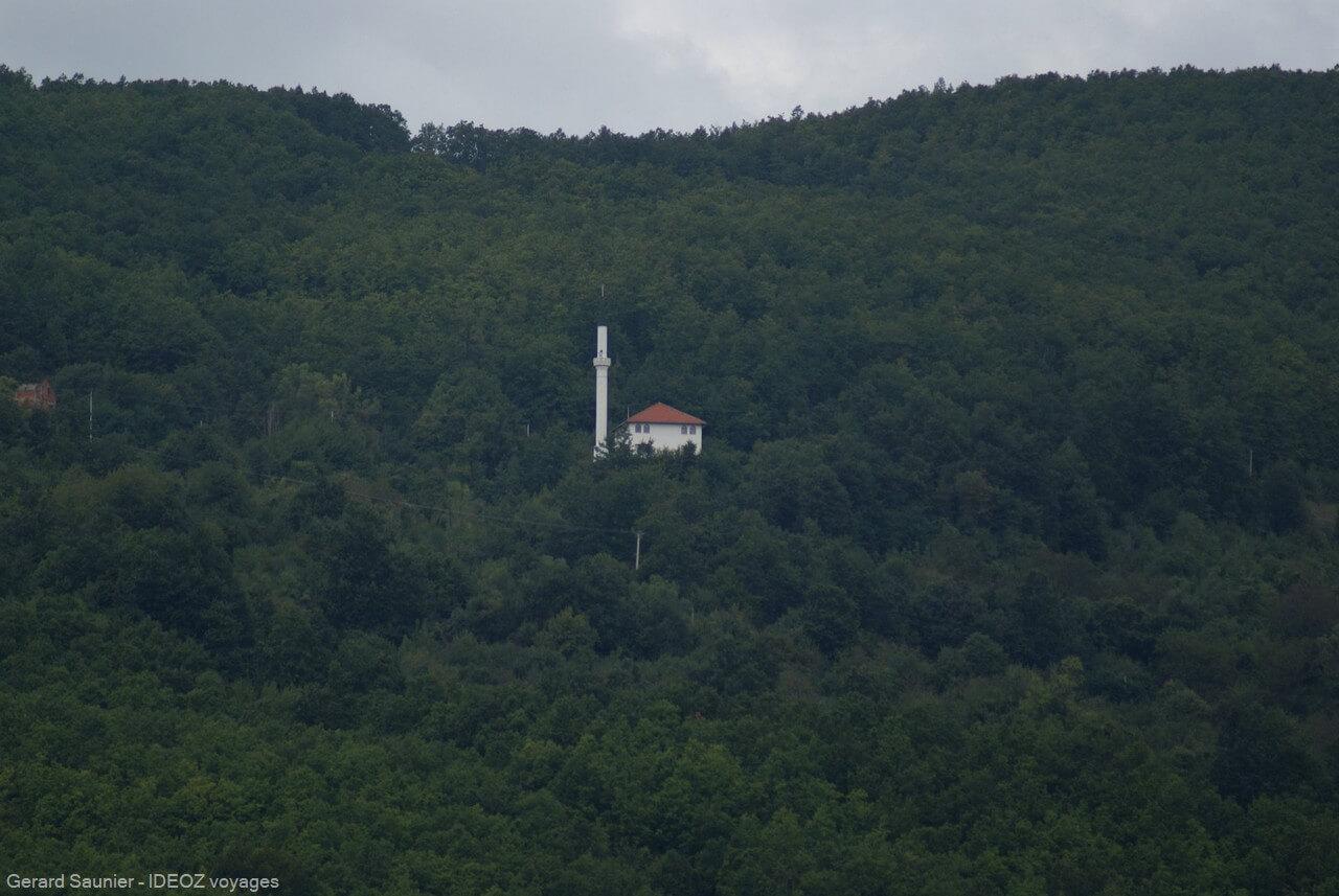 paysage de Bosnie dans la région de Tara