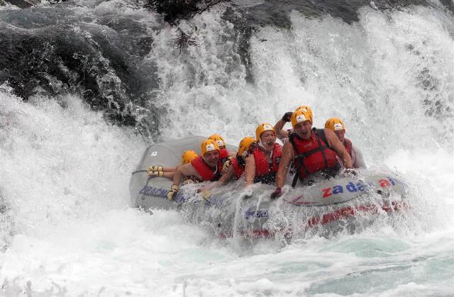 Activités maritimes, sur les rivières et dans les parcs de Dalmatie du nord 1