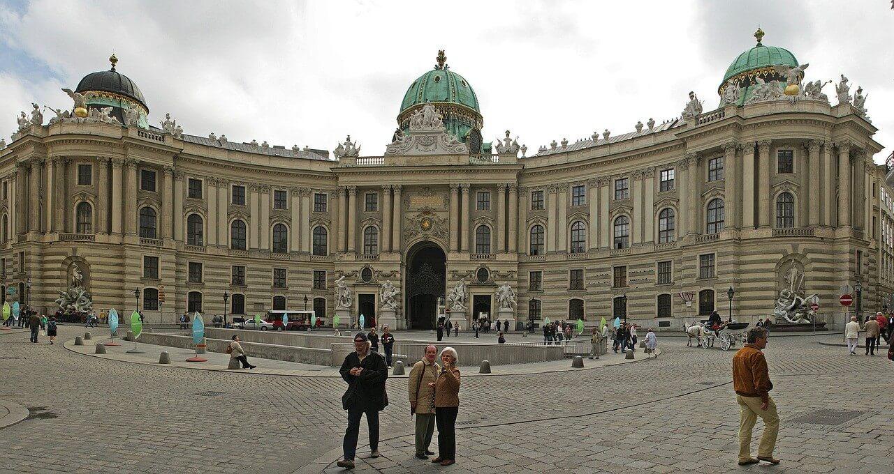 Palais impérarial Hofsburg à Vienne
