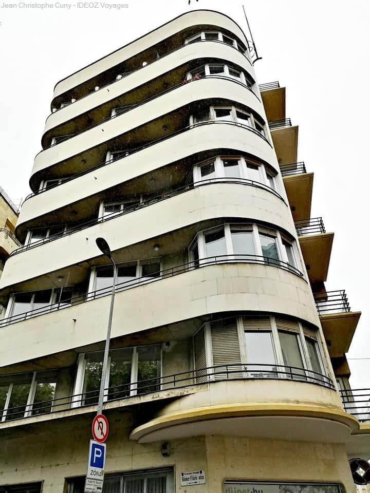 Immeuble Bauhaus à Budapest