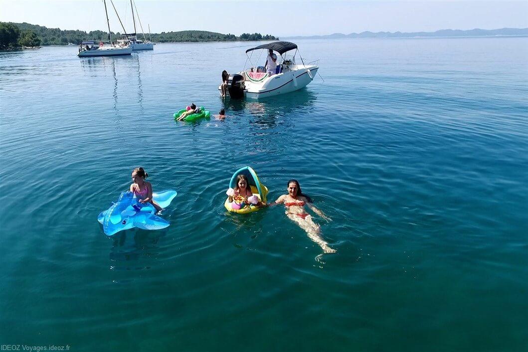 baignade en famille dans les kornati (1)