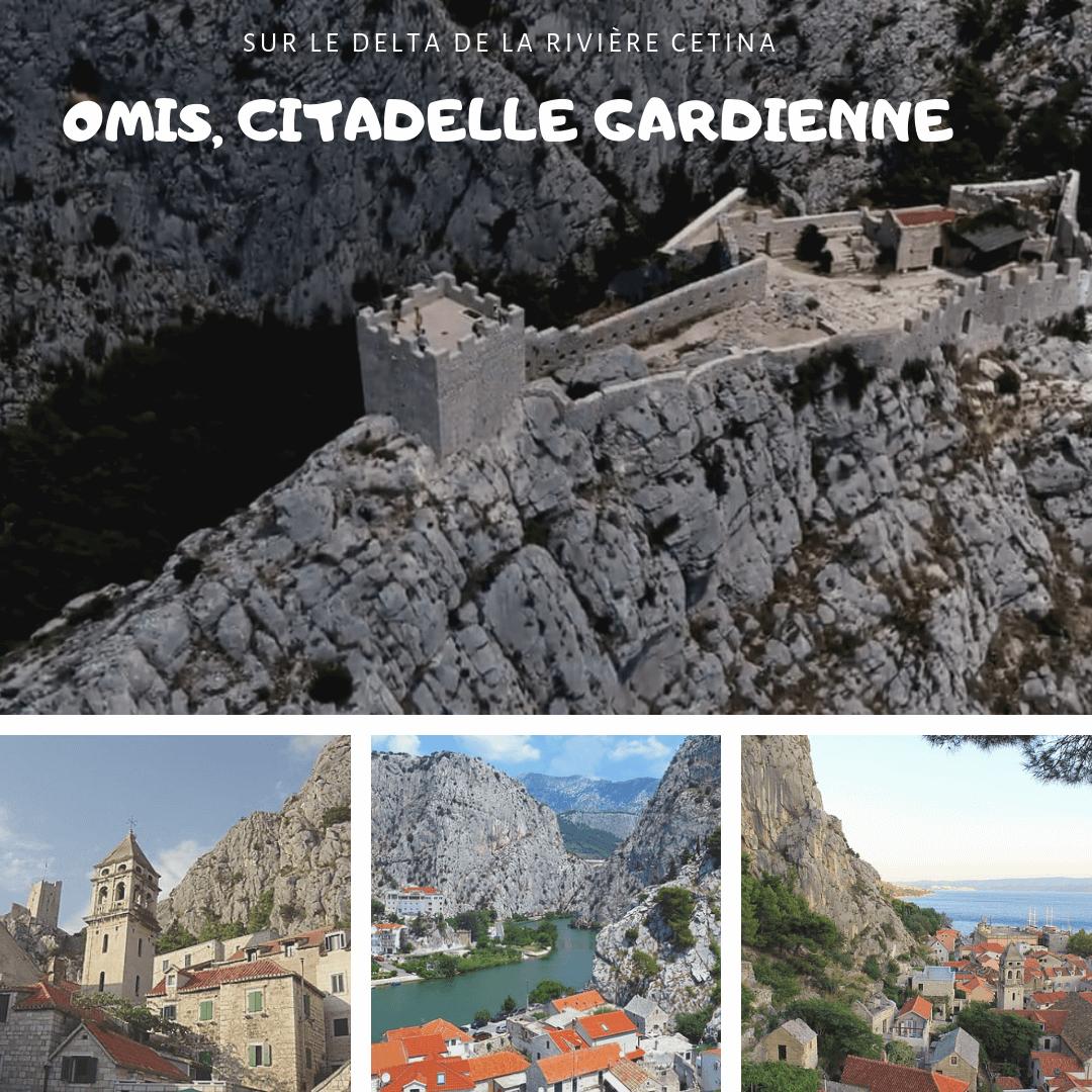 forteresse d'Omis et village