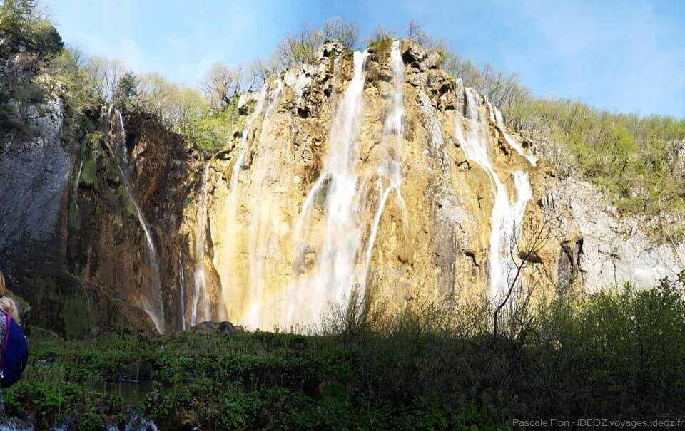 grande chute de Plitvice