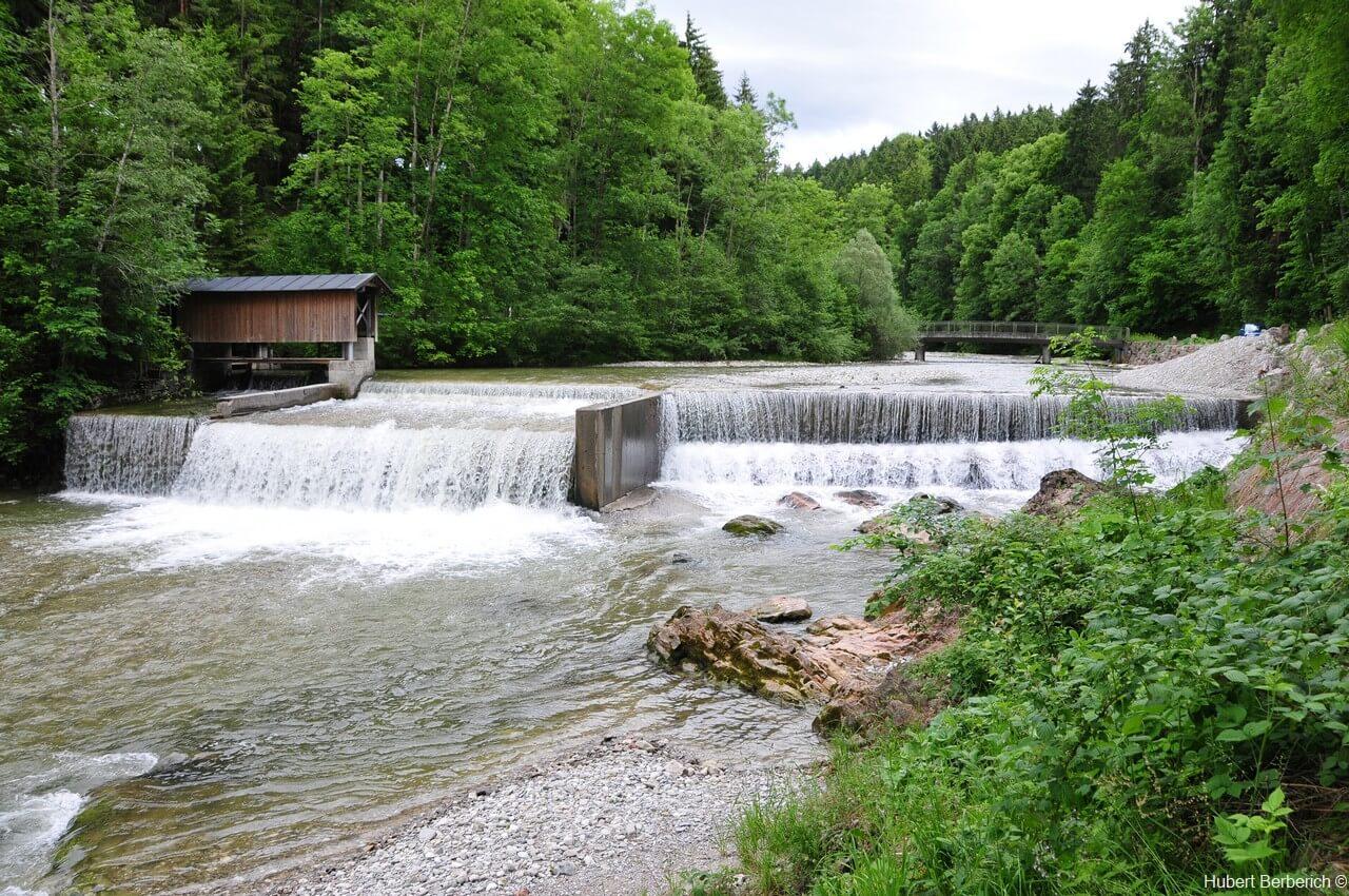 rivière Lech entre Lechbruck  et Halblech