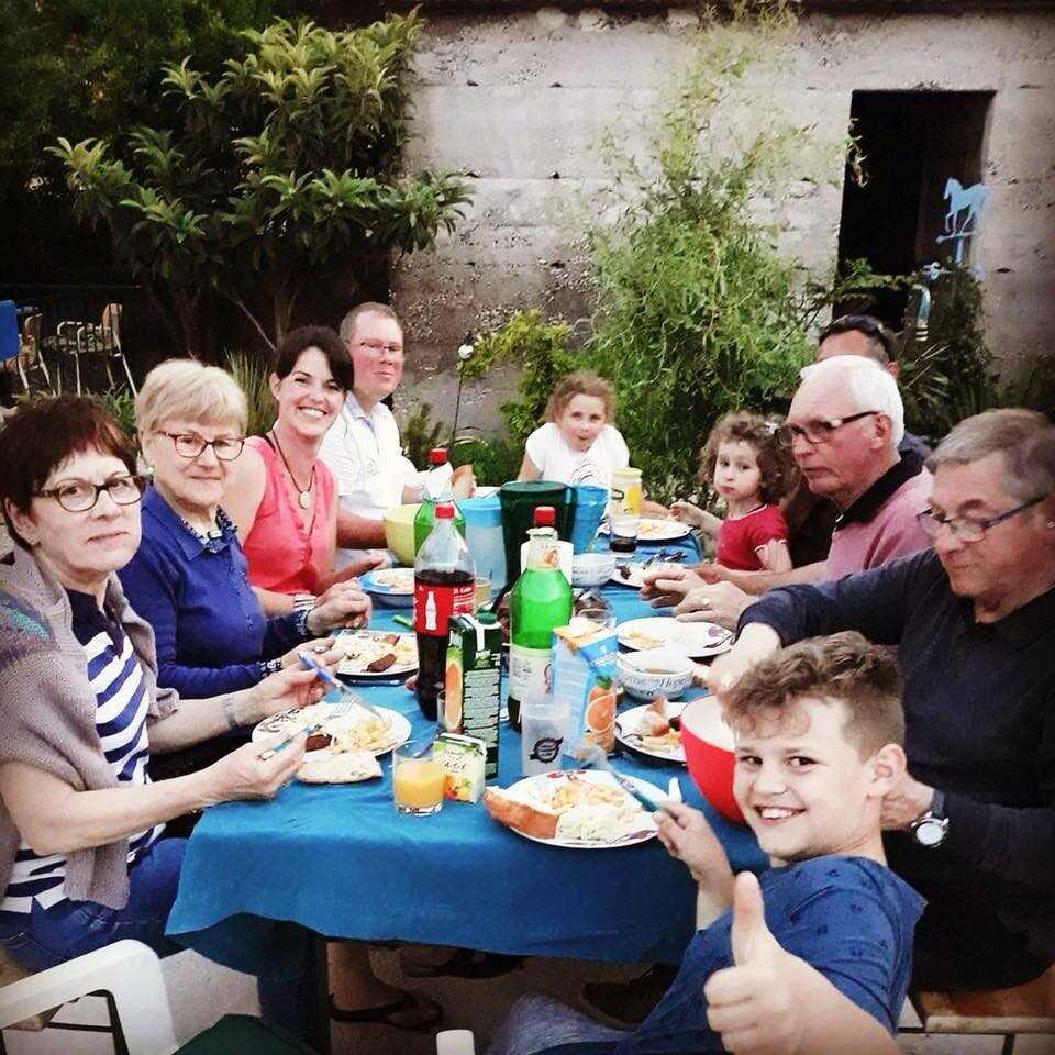 A table à la Villa Mélanie stasevica