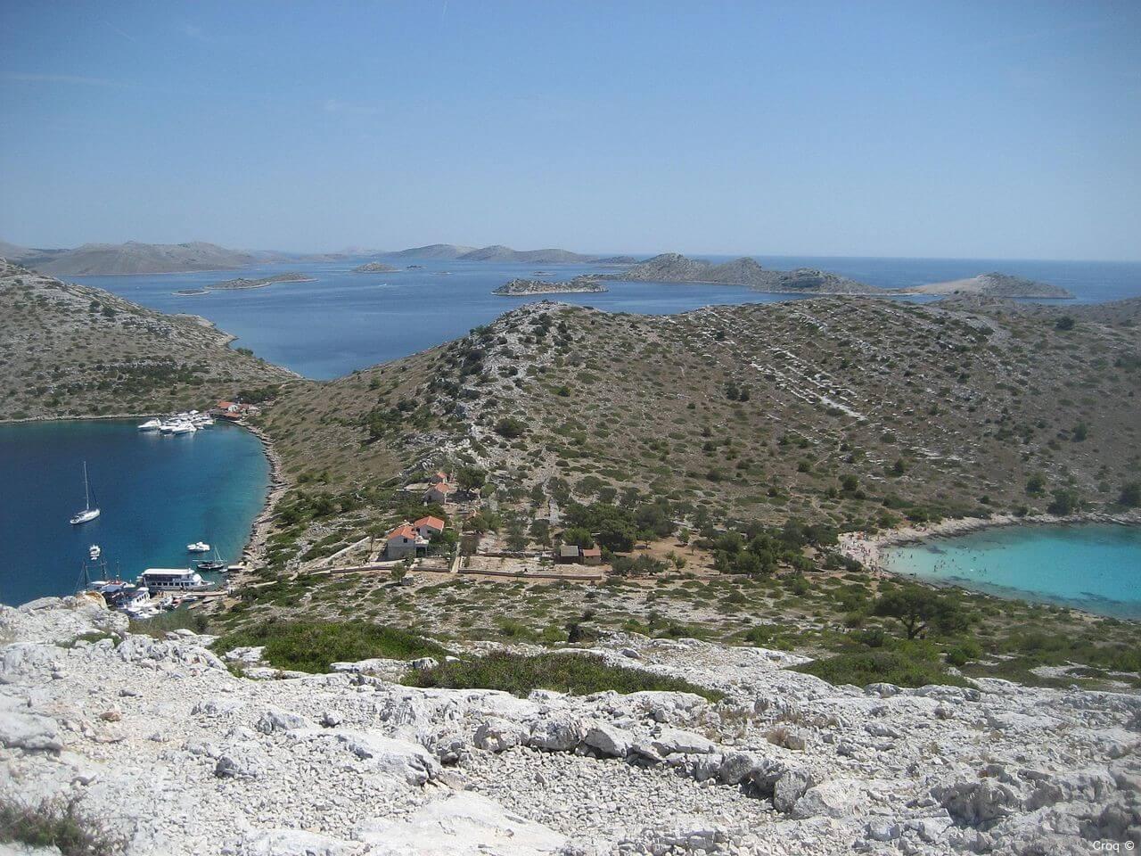 Baie de Levrnaka iles Kornati (1)