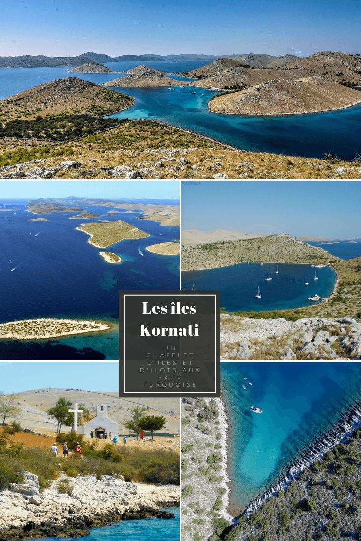 archipel des iles kornati en dalmatie du nord baies secretes aux eaux turquoise en croatie