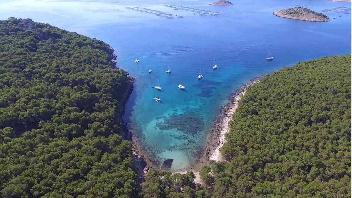 baie de l'ile de Vrgada