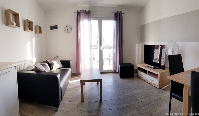 salle de séjour appartement Luka Vrana (1)
