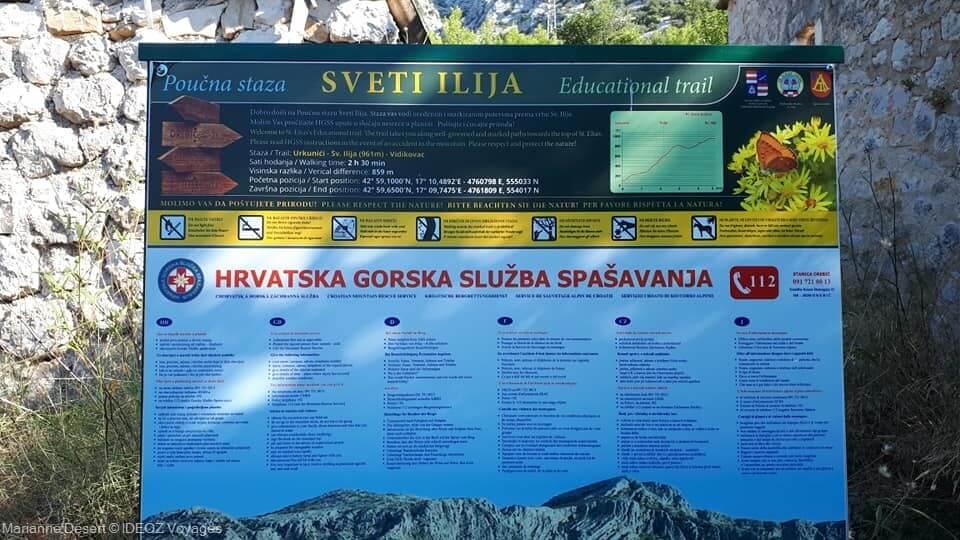 Randonnée jusqu'à Sveti Ilija, le point culminant de la presqu'île de Peljesac 1
