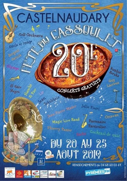 Fête du cassoulet de Castelnaudary ; 4 jours de folie du 22 au 25 Août 2019 1