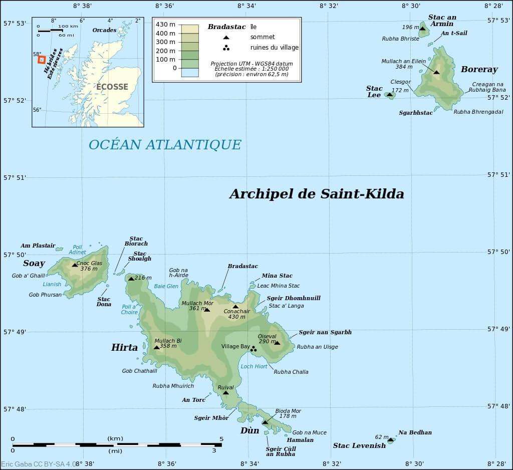 Les derniers hommes de Saint Kilda en Ecosse ; l'île des téméraires 2