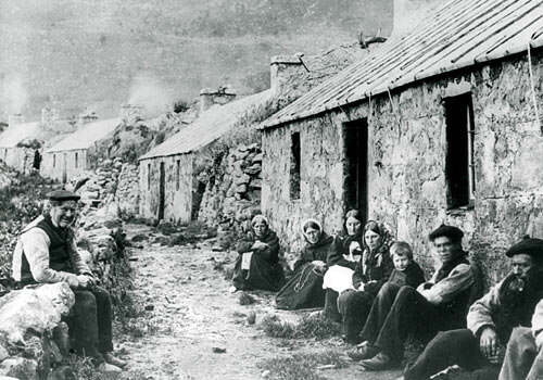 Les derniers hommes de Saint Kilda en Ecosse ; l'île des téméraires 9