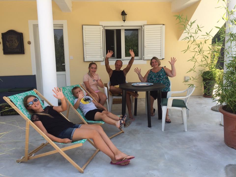 heureux au calme à la villa mélanie jozetine