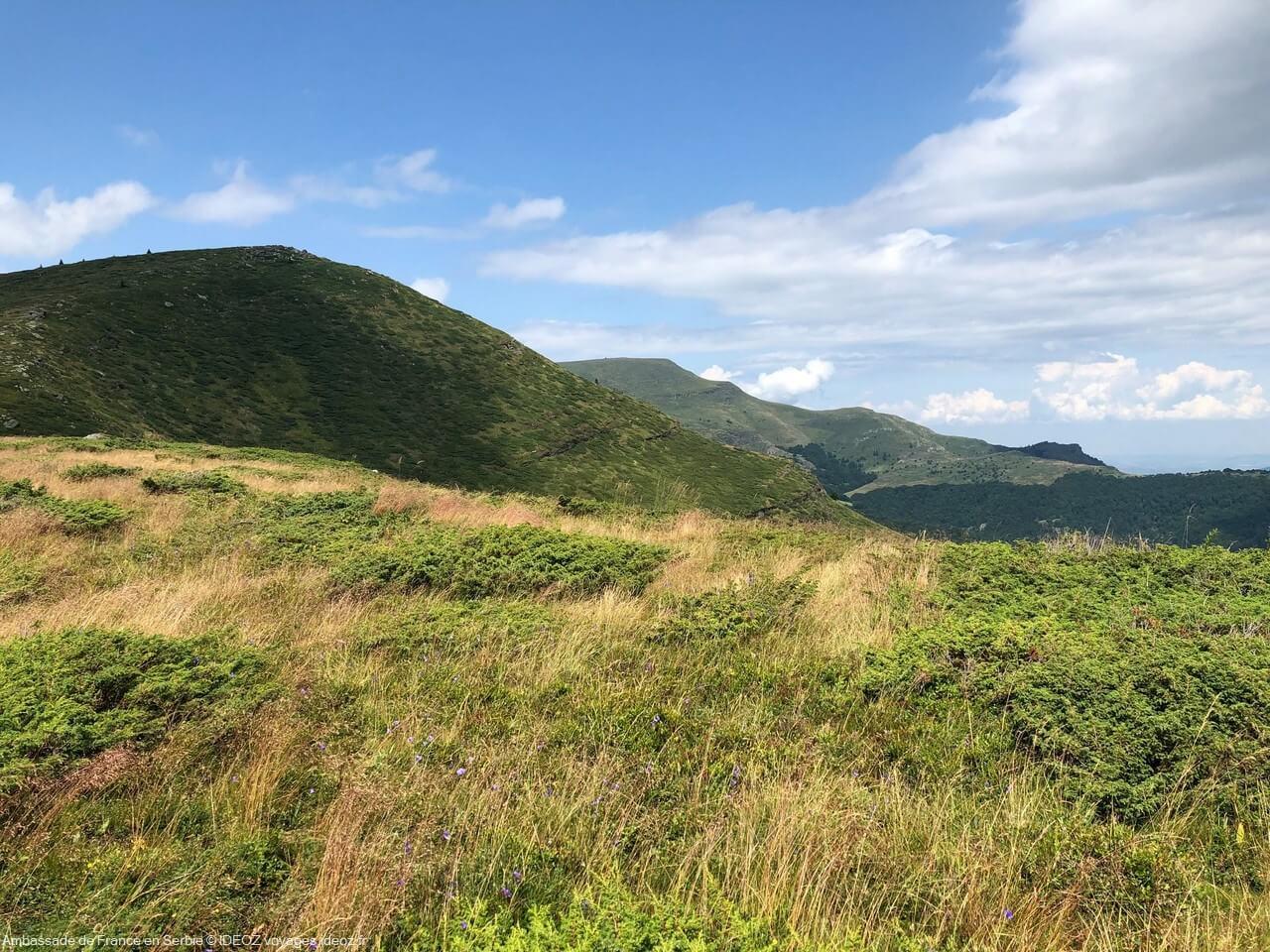 Randonnée à Stara Planina, sur la via dinarica voie verte en Serbie 11