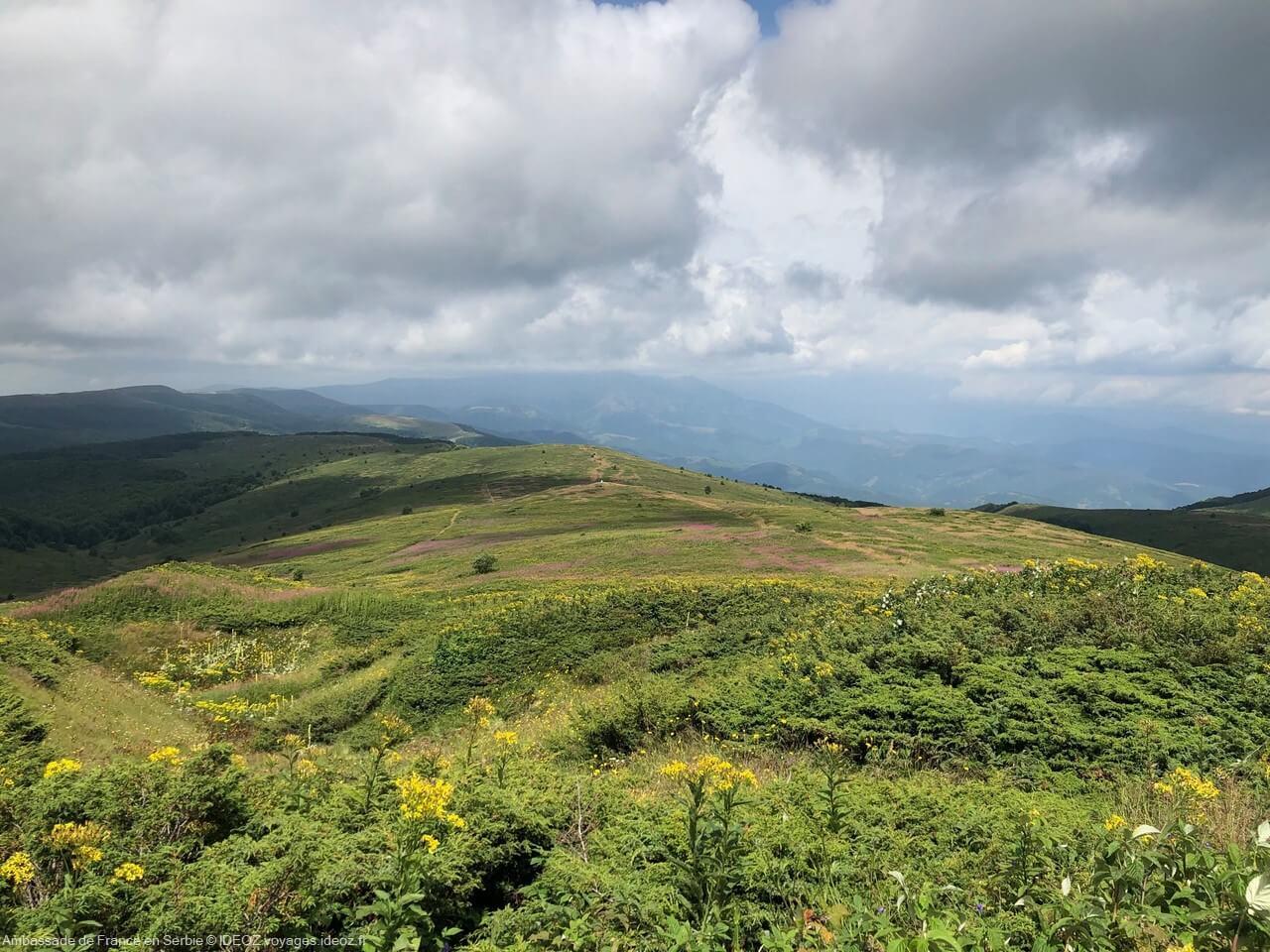 Randonnée à Stara Planina, sur la via dinarica voie verte en Serbie 5