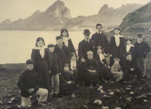 Les derniers hommes de Saint Kilda en Ecosse ; l'île des téméraires 10