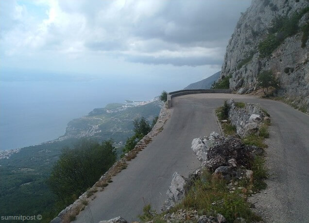 route de Biokovo