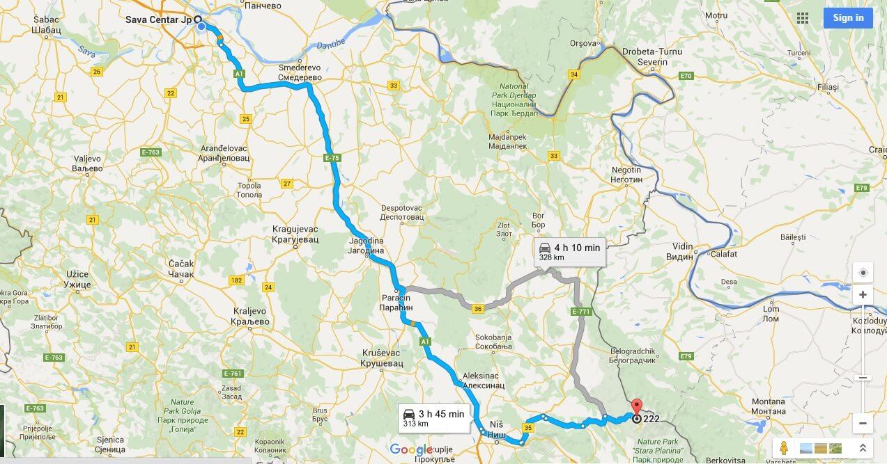 Randonnée à Stara Planina, sur la via dinarica voie verte en Serbie 15