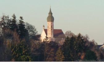 clocher de l'abbaye d'andechs