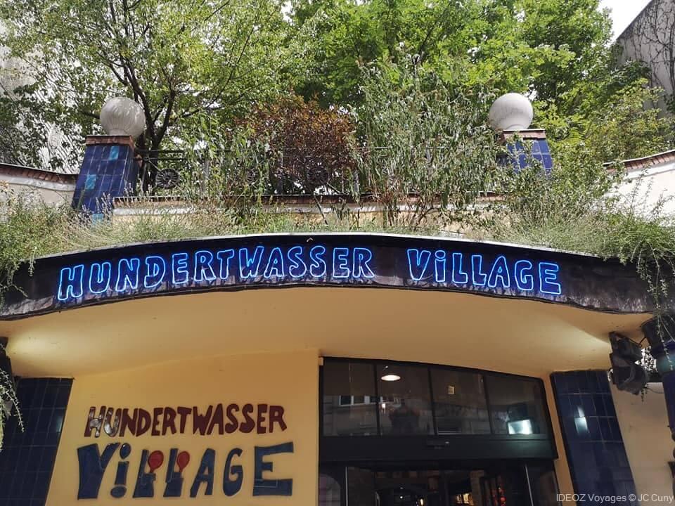 entrée hundertwasser à vienne