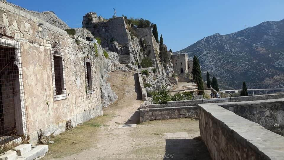 Citadelle de Ston ; la muraille de Chine de l'Europe sur la presqu'île de Peljesac (Dalmatie du Sud) 2