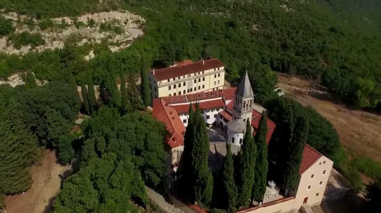 monastère serbe orthodoxe de krka