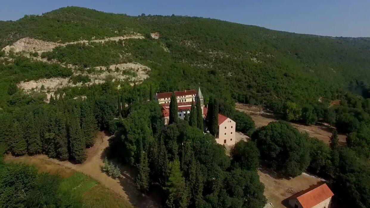 monastère de krka près de kistanje