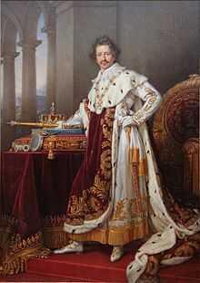 Roi Louis Ier de bavière portrait