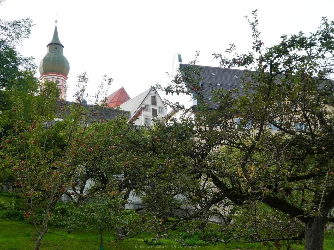 vergers de l'abbaye d'andechs