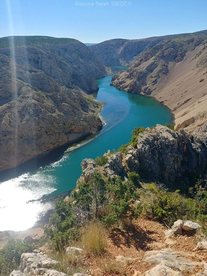 canyon de la rivière zrmanja en dalmatie du nord (1)