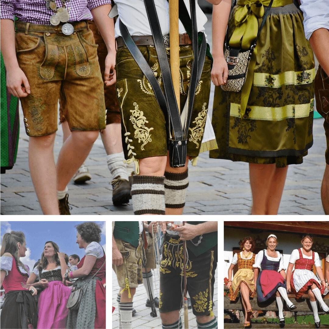 dirndl et lederhose costumes traditionnels bavarois (1)