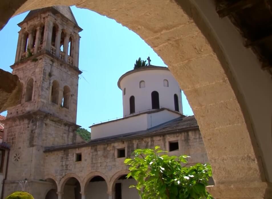 monastère de krka clocher