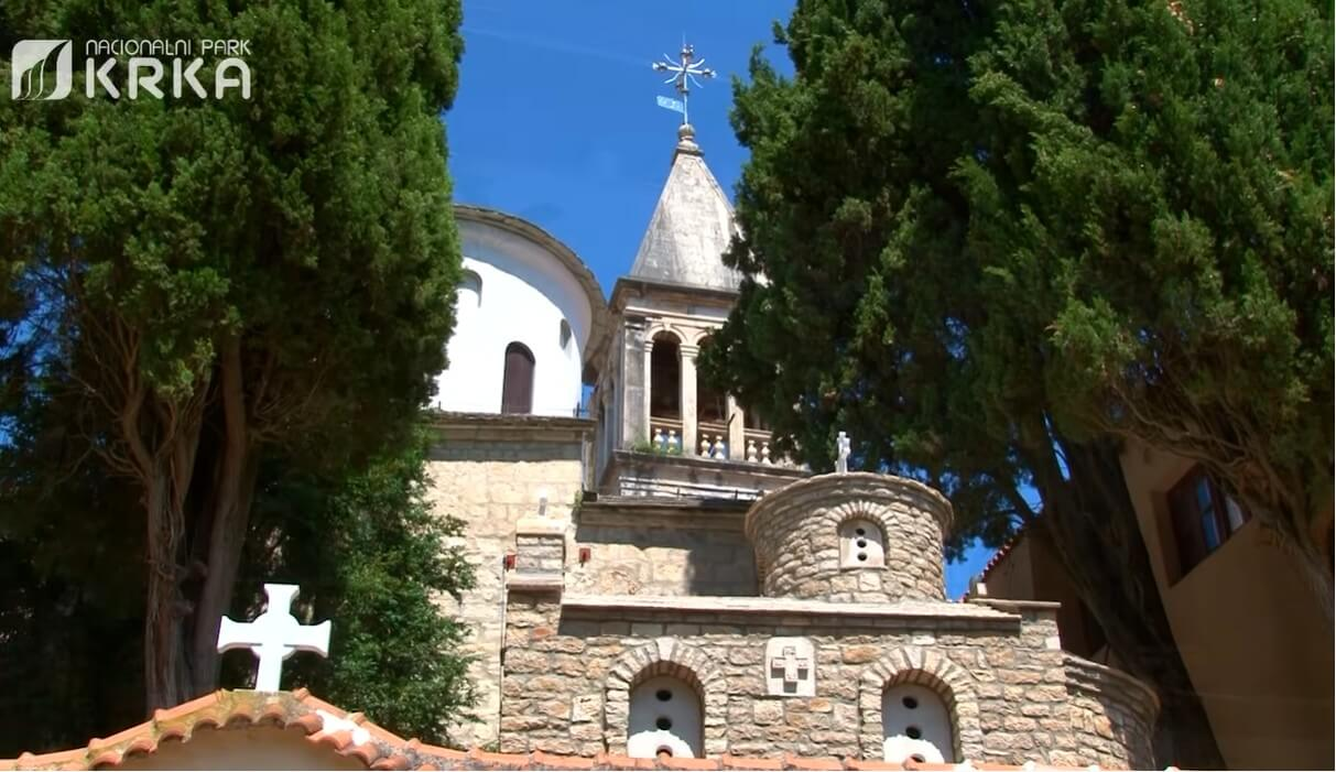 monastère de krka manastir krka