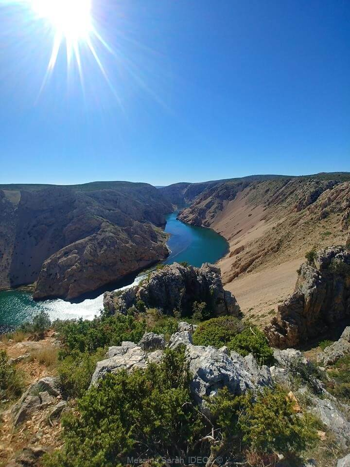 panorama sur le canyon de zrmanja (1)