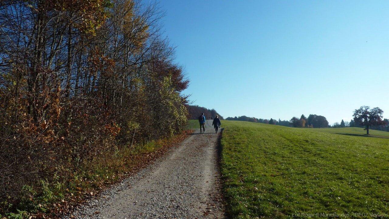chemin de randonnée en baviere