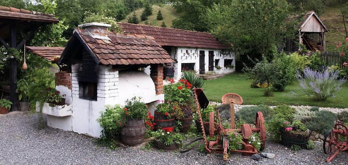 Stara Kapela, ethnovillage traditionnel en Slavonie 20
