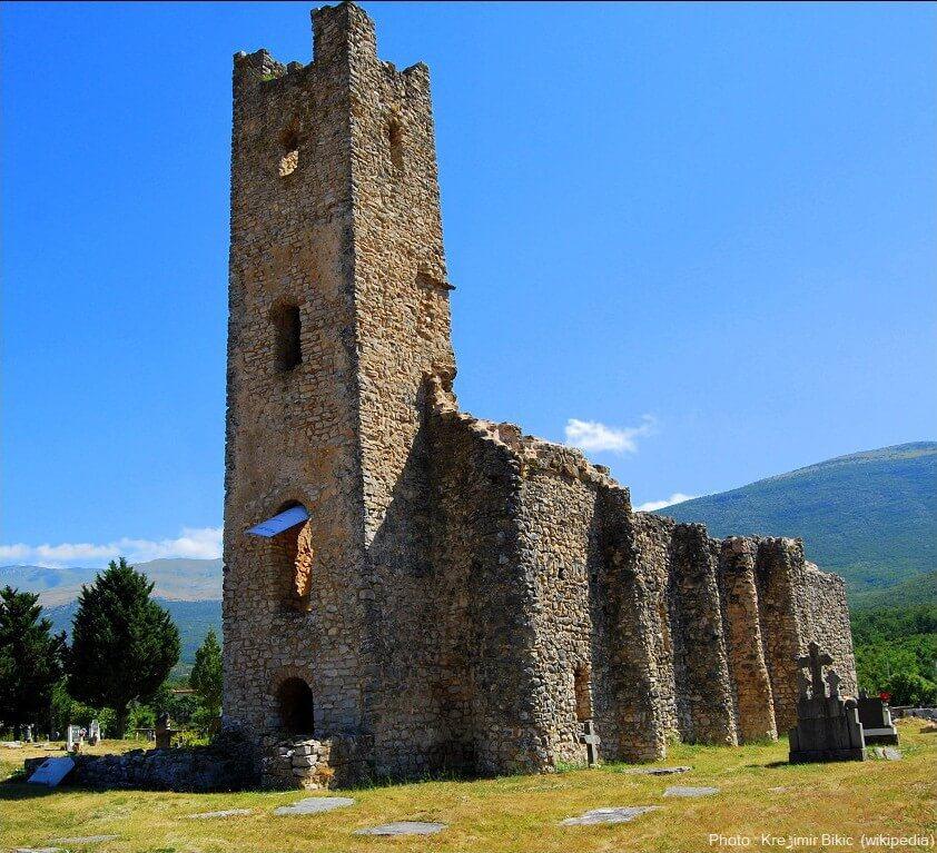 église de saint sauveur à cetina
