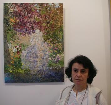 Fatima El Hajj peintre libanaise exposant à paris