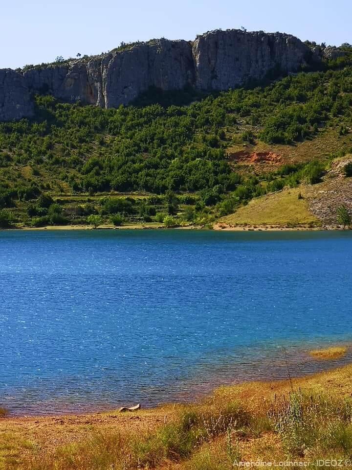 jezero perucko lac peruca en dalmatie du nord