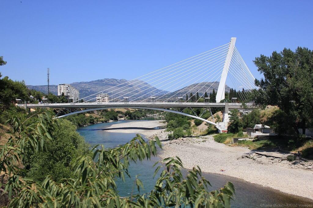 pont du millenaire à podgorica