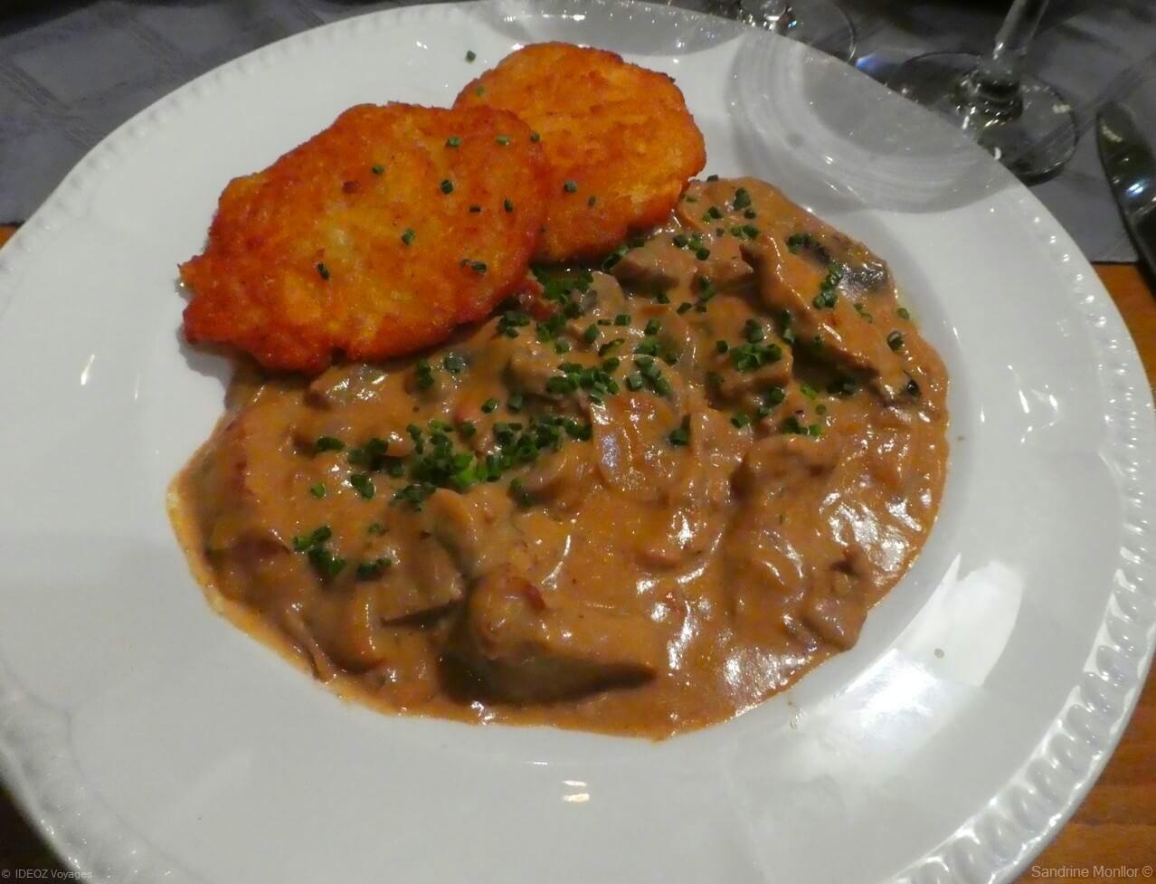 Recette d'escalope de veau à la zurichoise ; Zürcher Geschnetzeltes 2